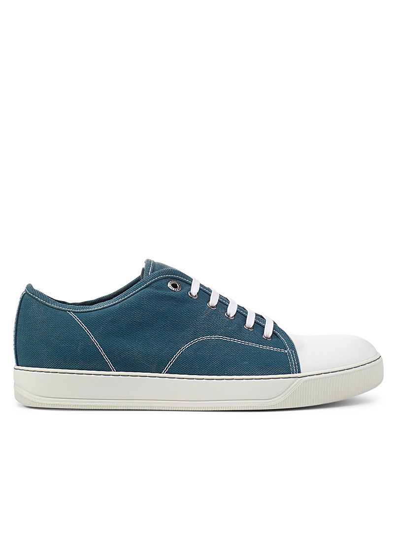 Lanvin Blue DBB1 denim sneakers Men for men