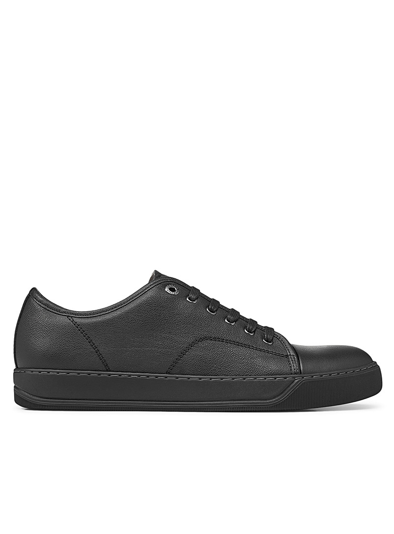 Lanvin Black DBB1 leather sneakers Men for men