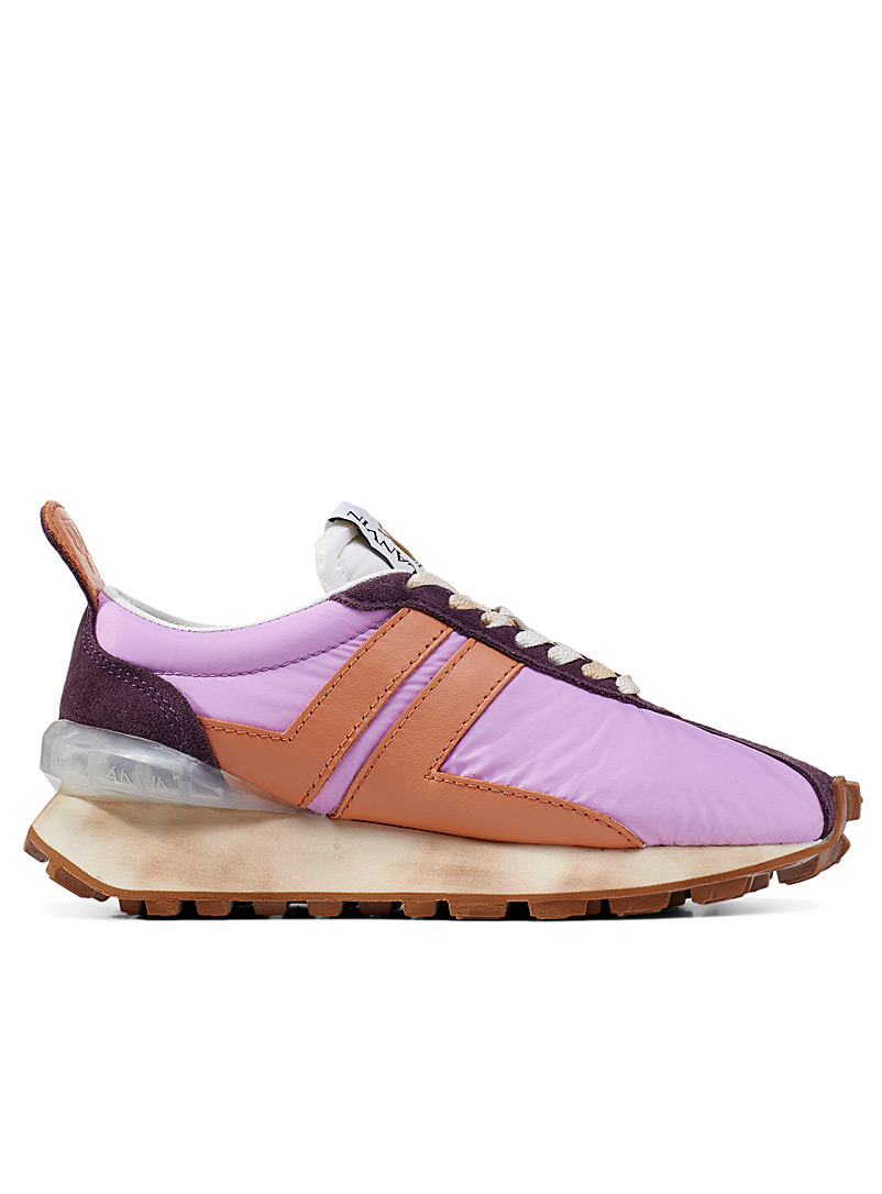 Lanvin Lilacs Nylon Bumpr sneakers for women