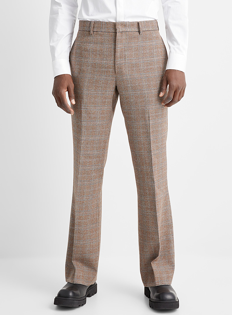 Wooyoungmi Copper Prince of Wales pant for men
