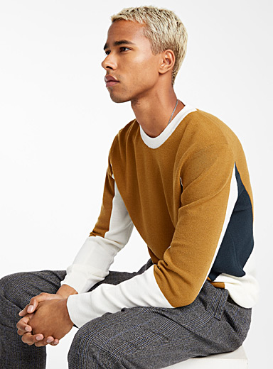 Le pull Color Block