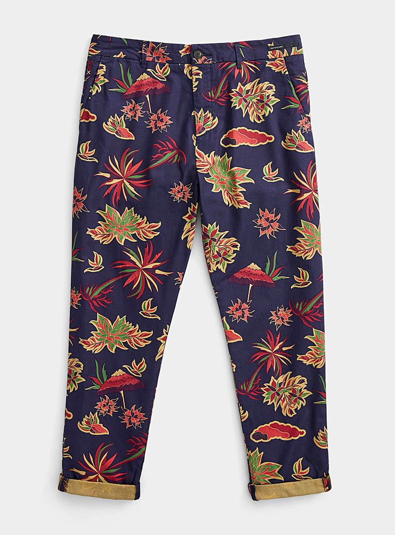 Scotch & Soda Assorted Southern island chinos  Straight fit for men
