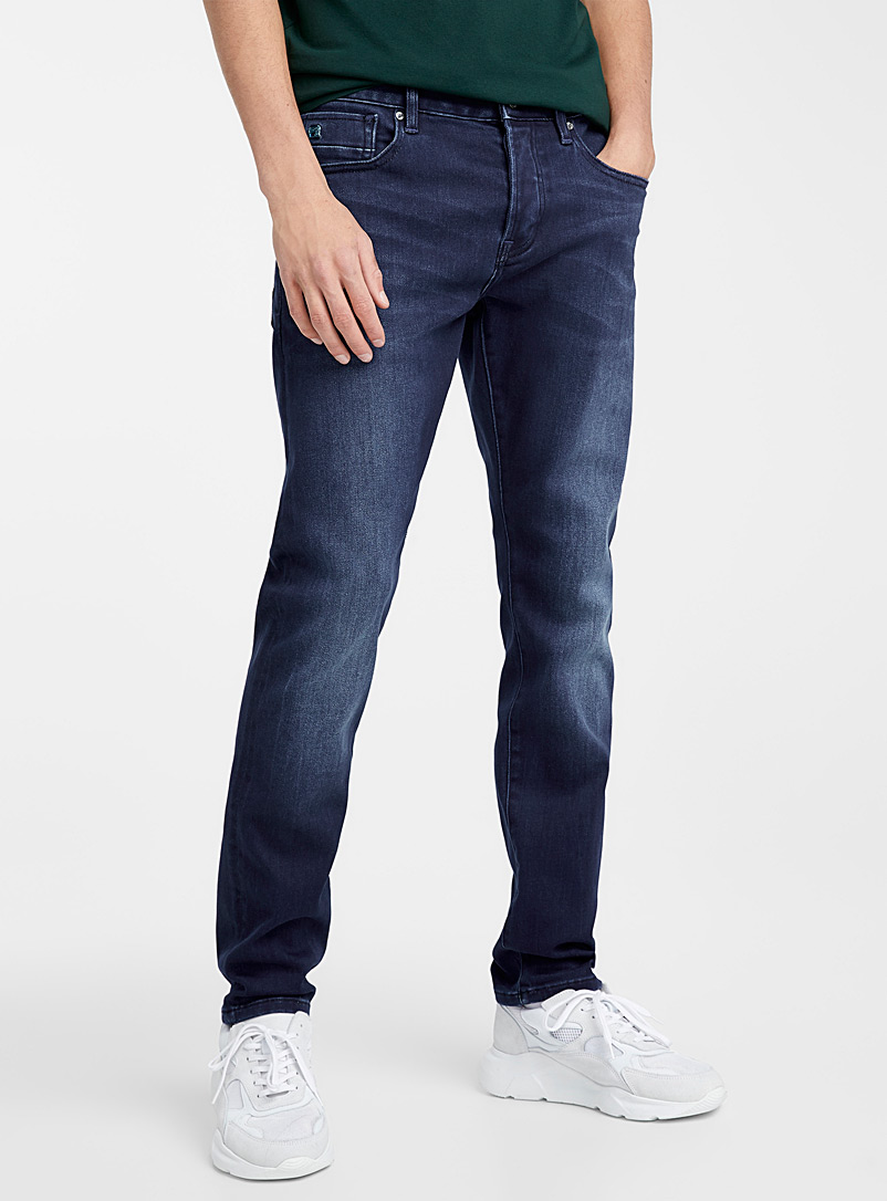 Scotch & Soda Marine Blue Ralston deep blue jean  Slim fit for men