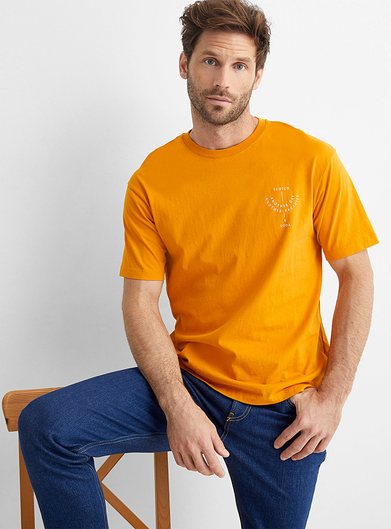 Scotch & Soda Copper Another Day T-shirt for men