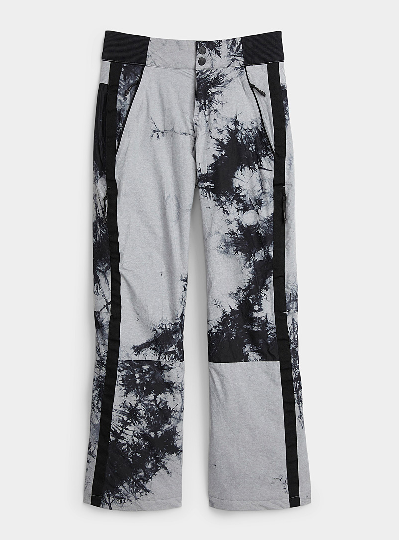 Holden Patterned Black Shelby acid tie-dye snow pant for error