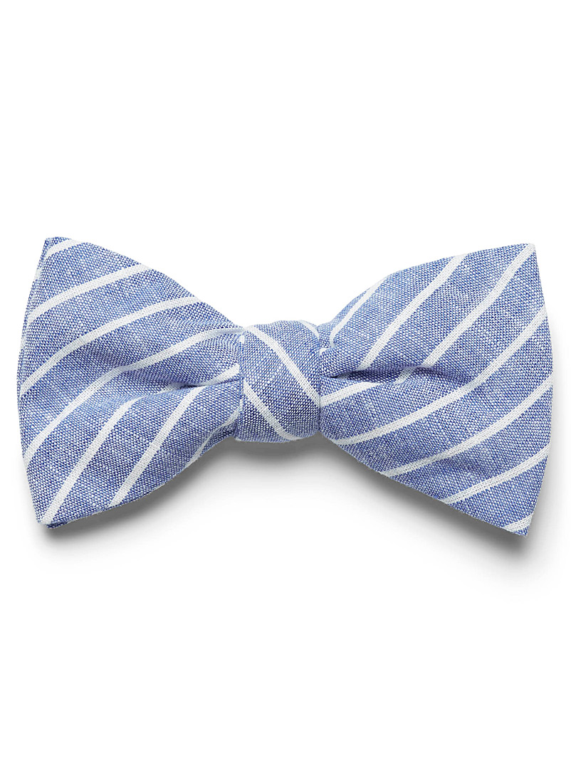 chambray-stripe-bow-tie