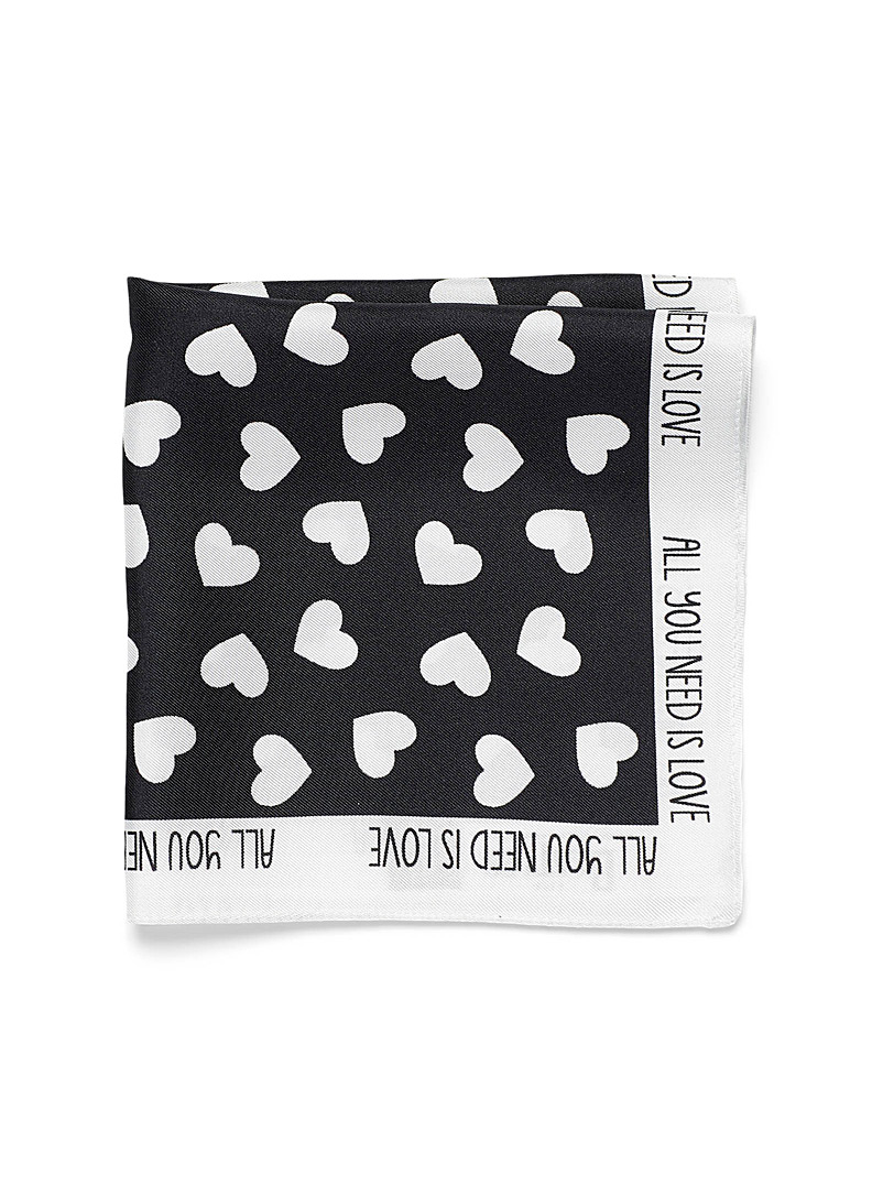 All You Need is Love pocket square