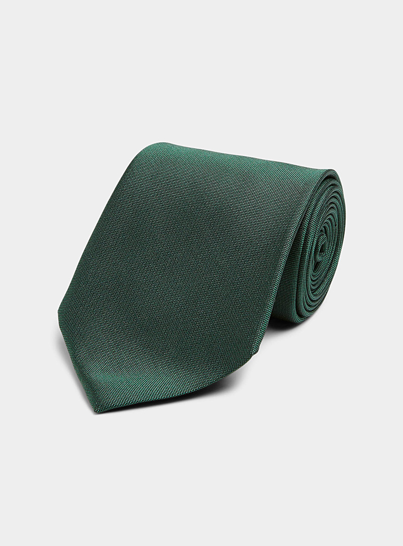Blick Ruby Red Solid oxford tie for men