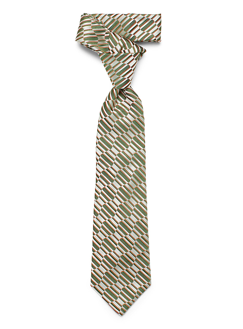 Blick Mossy Green Retro tie for men