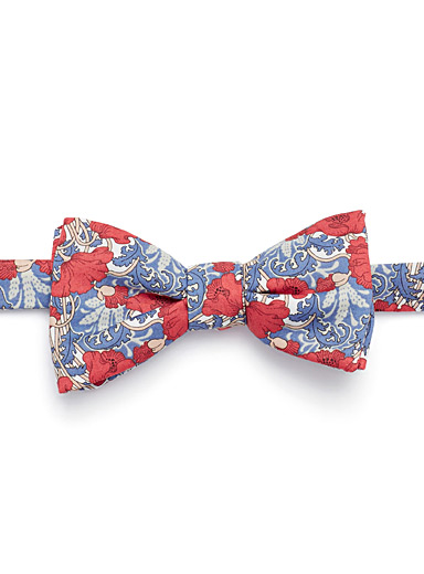 Tapestry bouquet bow tie