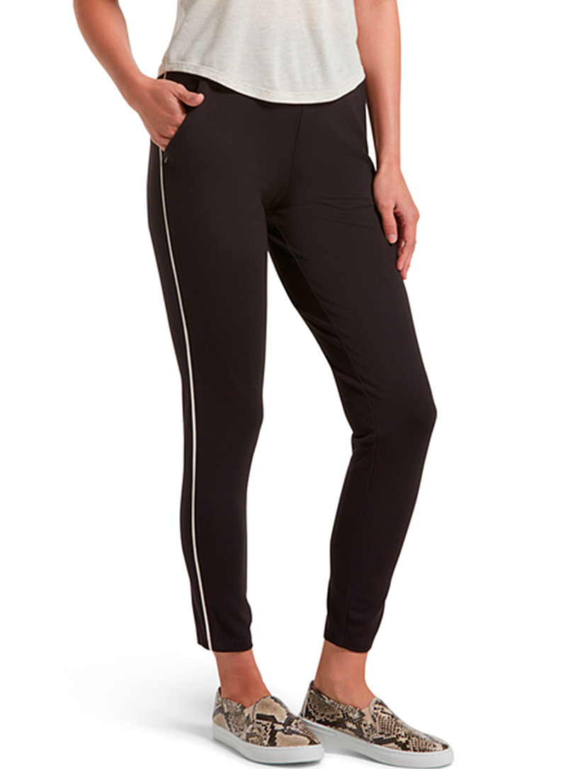 Hue Black Jogger-like legging for women