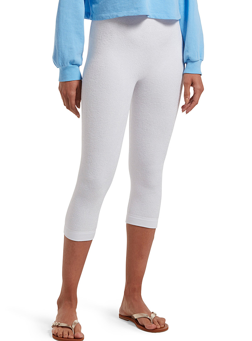 Hue White Essential reversible legging for women