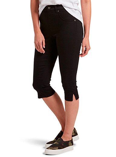 Hue Black Capri jegging for women