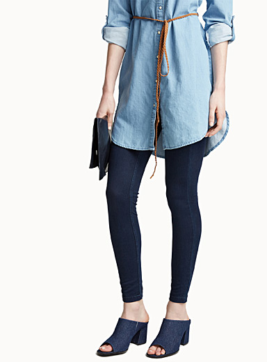Le jegging denim souple