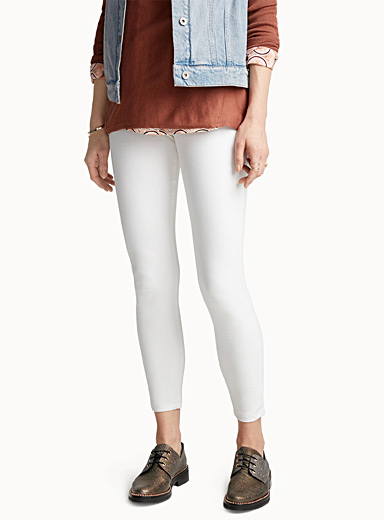 Ankle-length denim jegging