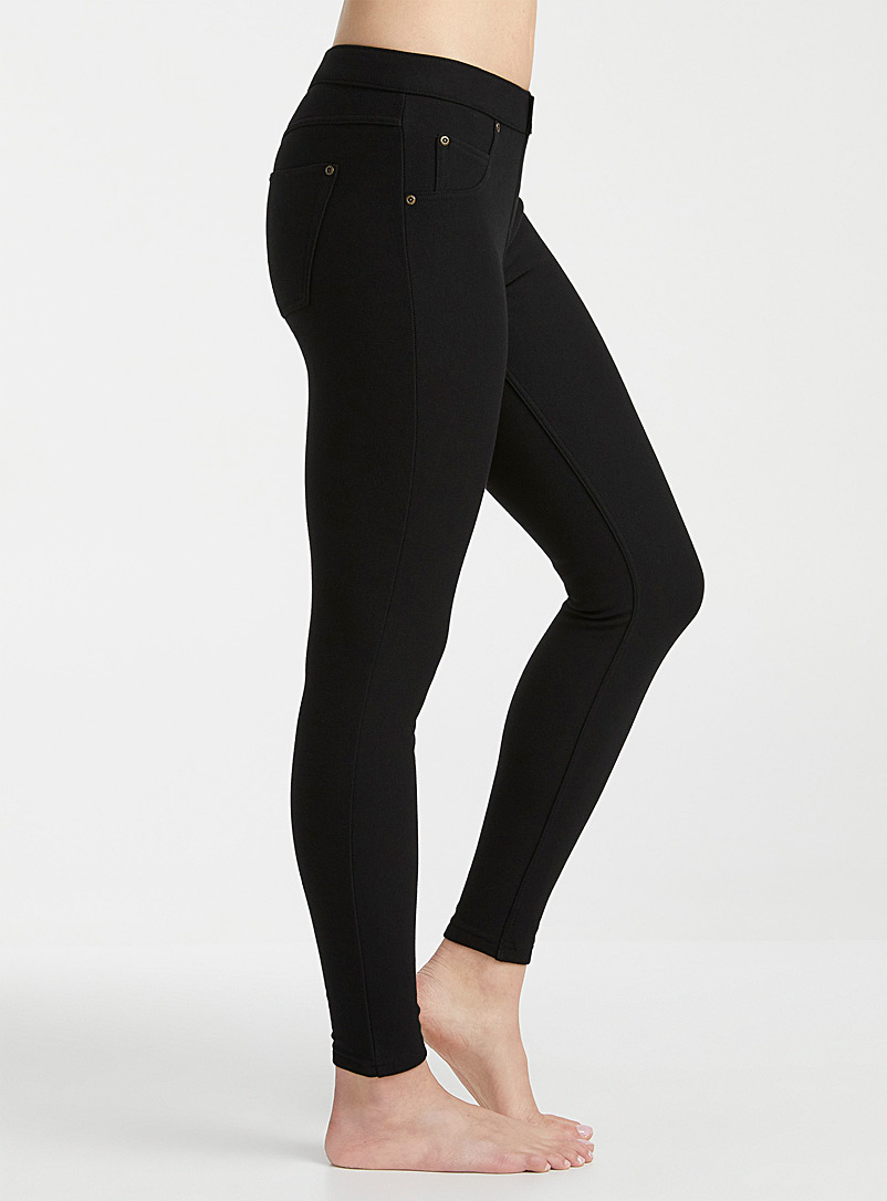 Ultra soft fleece-lined jegging