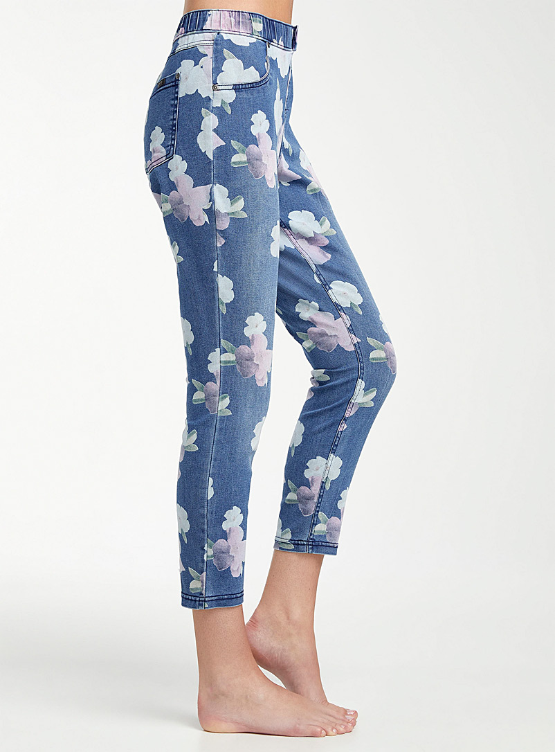 Le jegging hibiscus