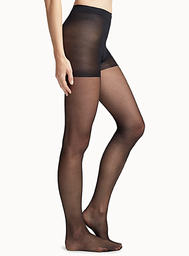 Calvin Klein Black Ultra fine matte pantyhose for women