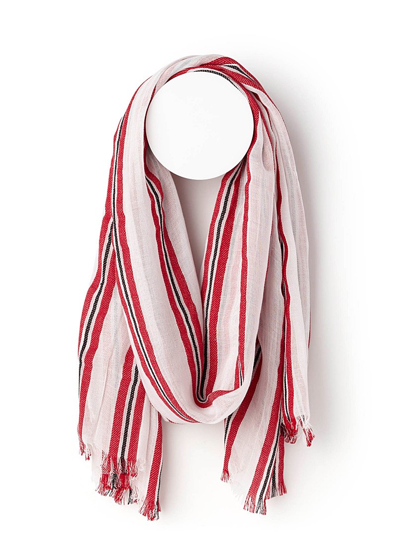 Summer stripe scarf - Light scarves