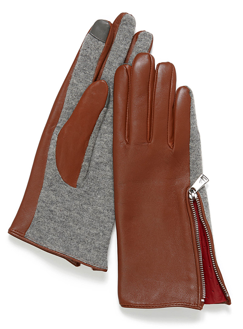 minimalist-leather-and-knit-gloves
