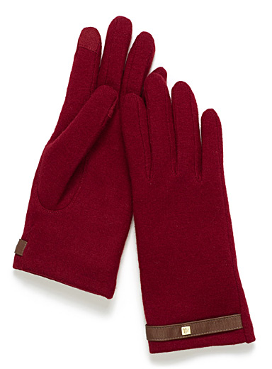 Cashmere touch tech gloves