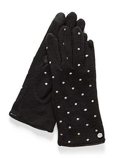 Dot tactile gloves