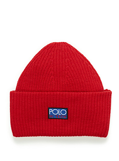 Solid wide-cuffed tuque