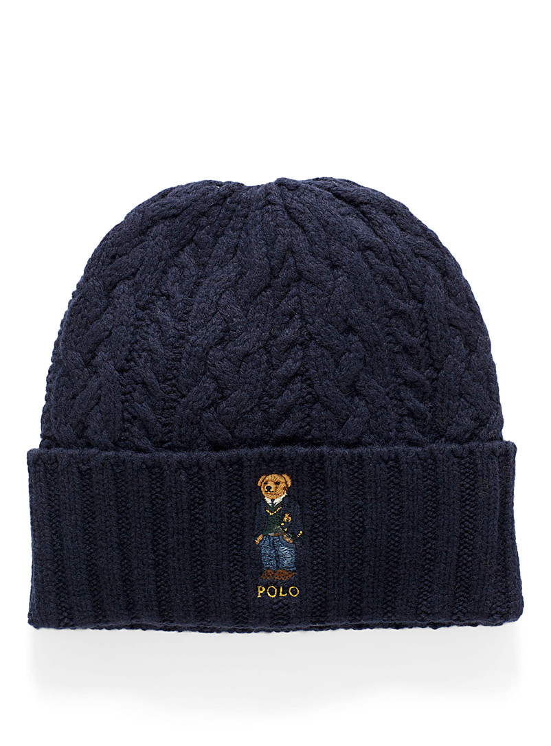 teddy-bear-logo-cable-tuque