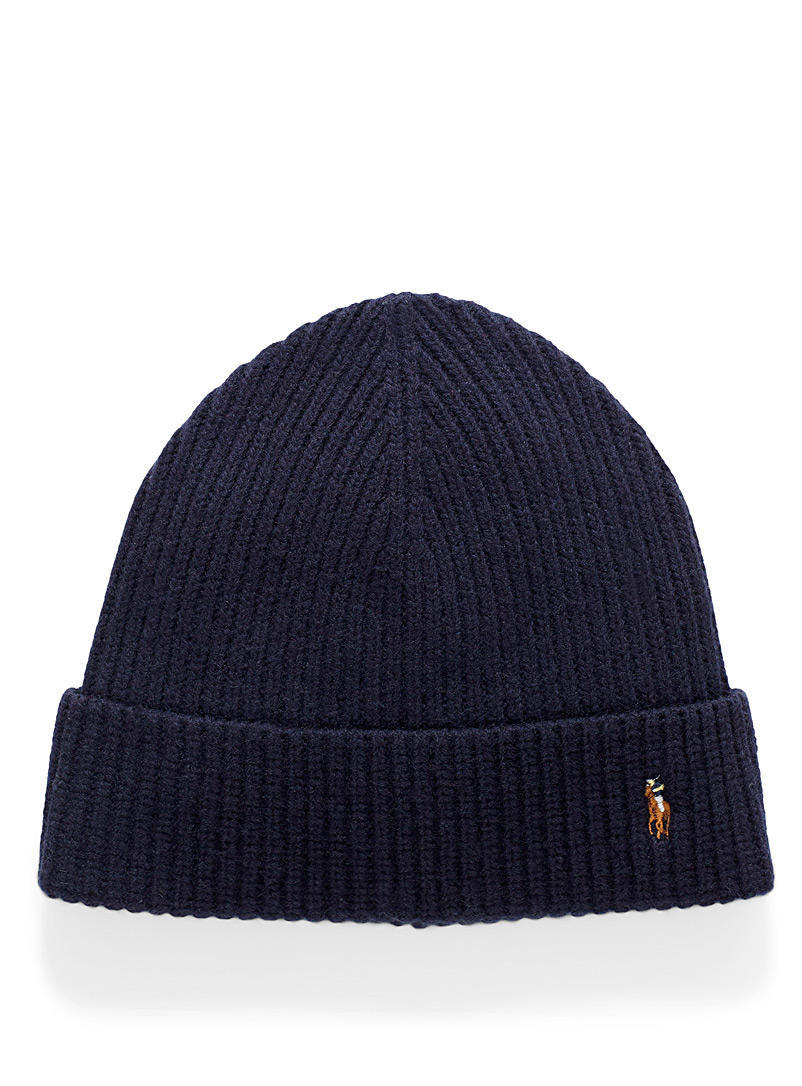Polo player logo tuque - Tuques - Marine Blue