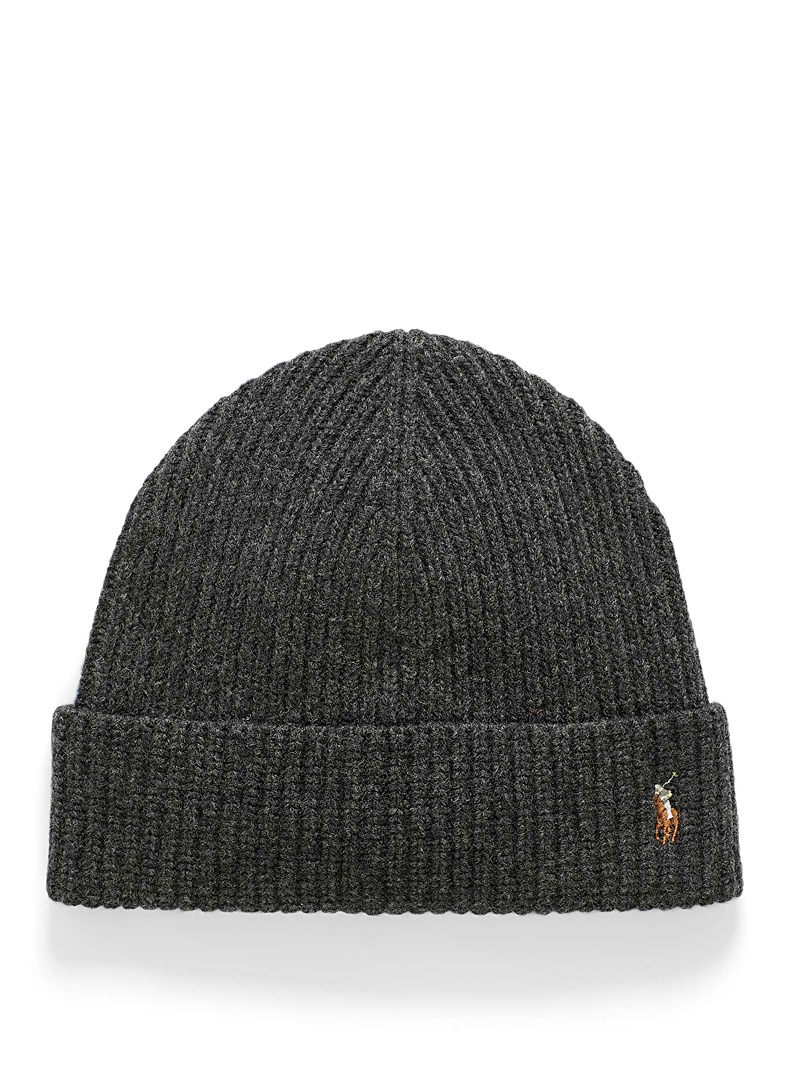 Polo Ralph Lauren Charcoal Polo signature tuque for men