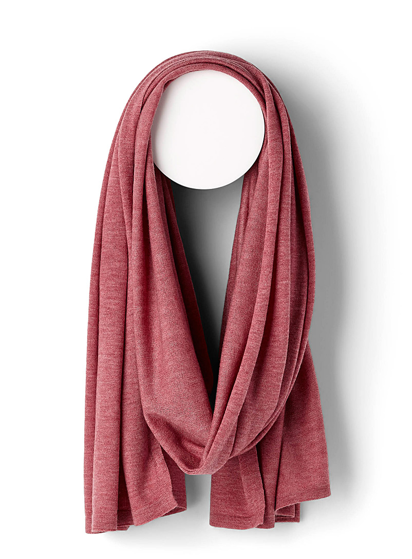 Heathered scarf - Light scarves - Pink