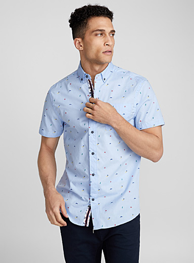Coastal surfer shirt  Regular fit