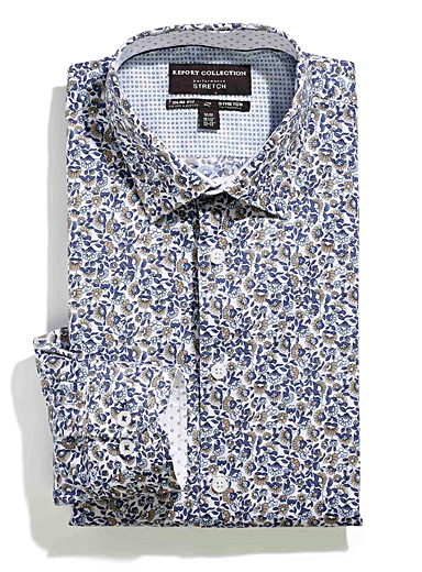 Floral vine shirt  Slim fit