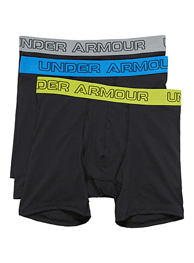 Solid boxer brief  3-pack