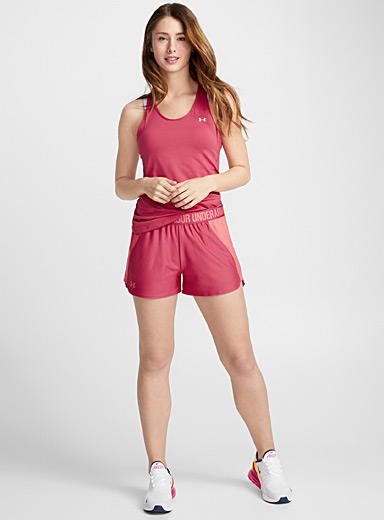 Accent waist sporty retro short