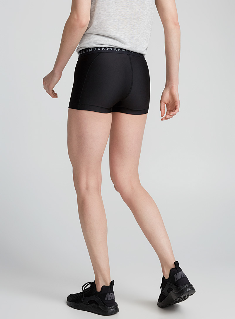 Le short de compression UA - Course - Noir