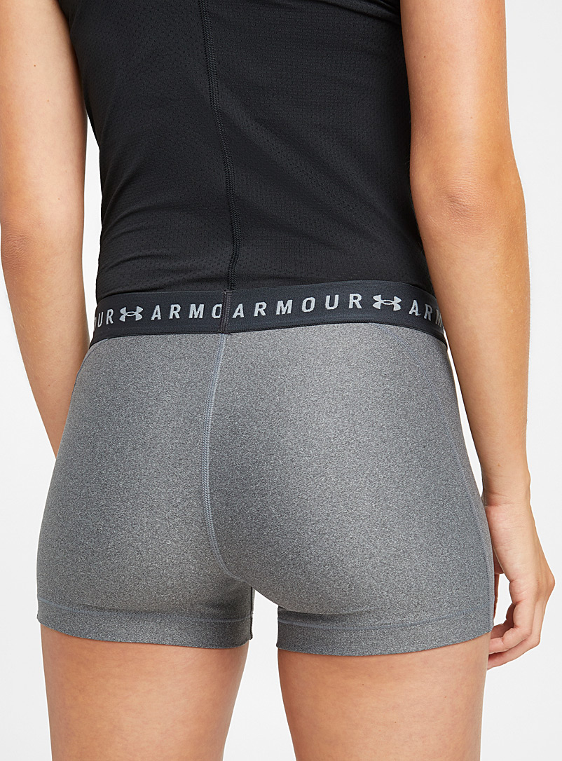 Under Armour Charcoal UA compression short for women