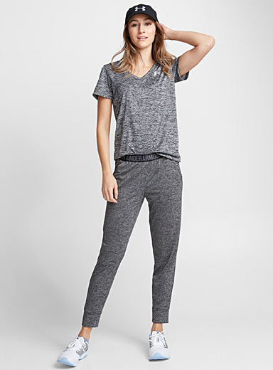 Le jogger tricot taille logo