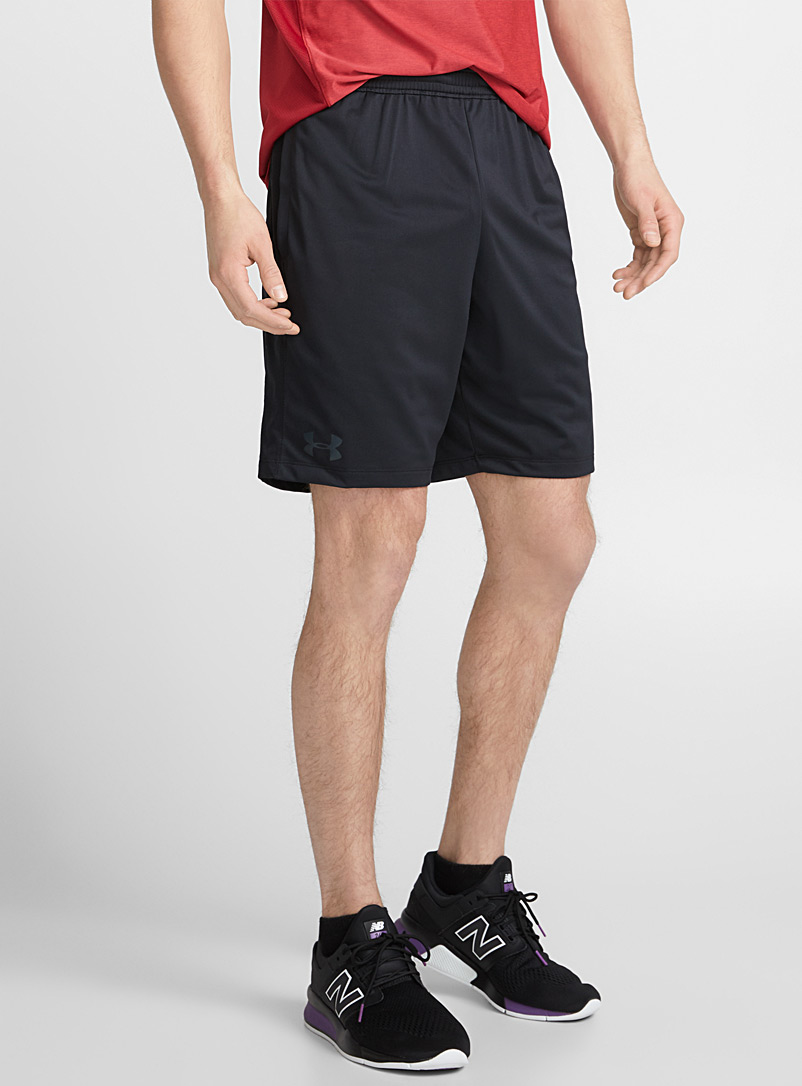 Under Armour Black MK-1 workout short for men