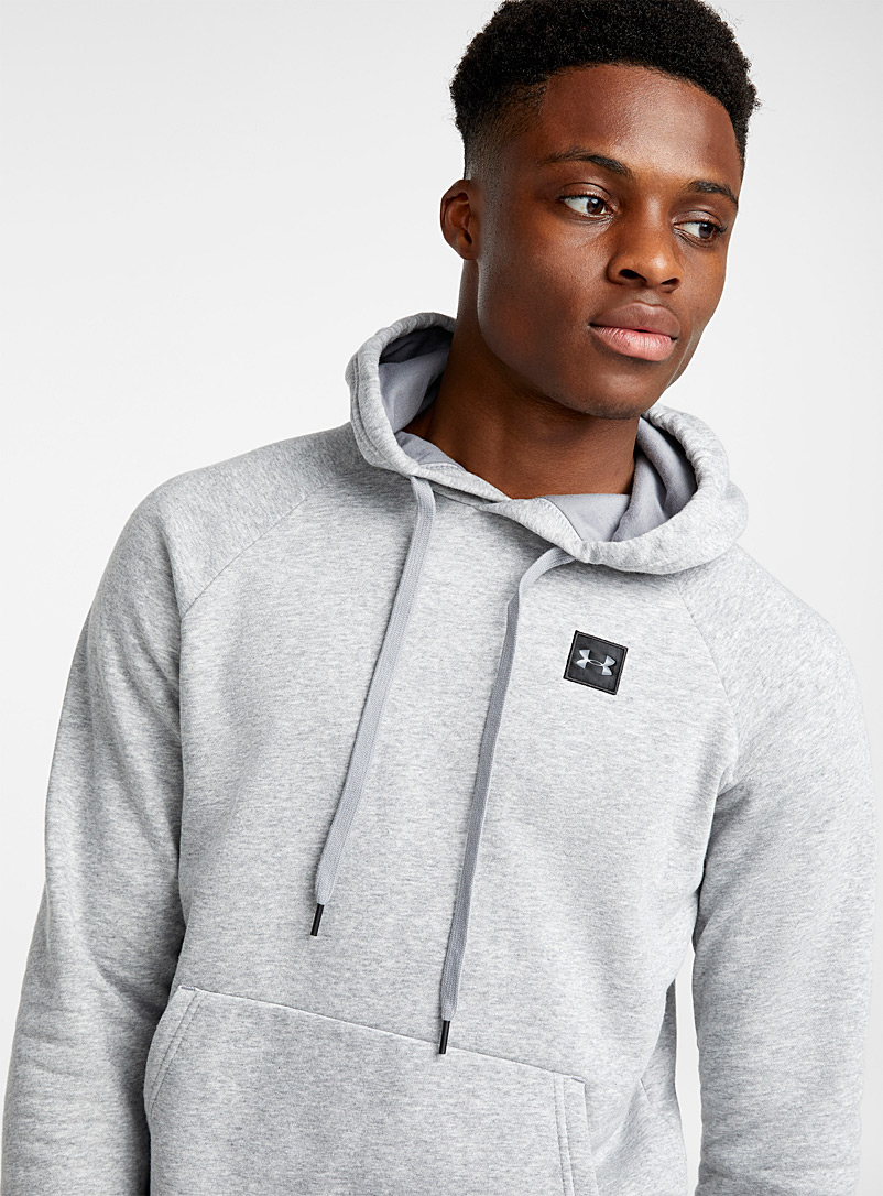 Le sweat capuchon Rival Fleece - Chandails - Gris à motifs