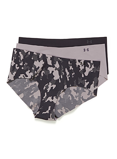 Under Armour Patterned Crimson Laser-cut underwear  Set of 3 for women