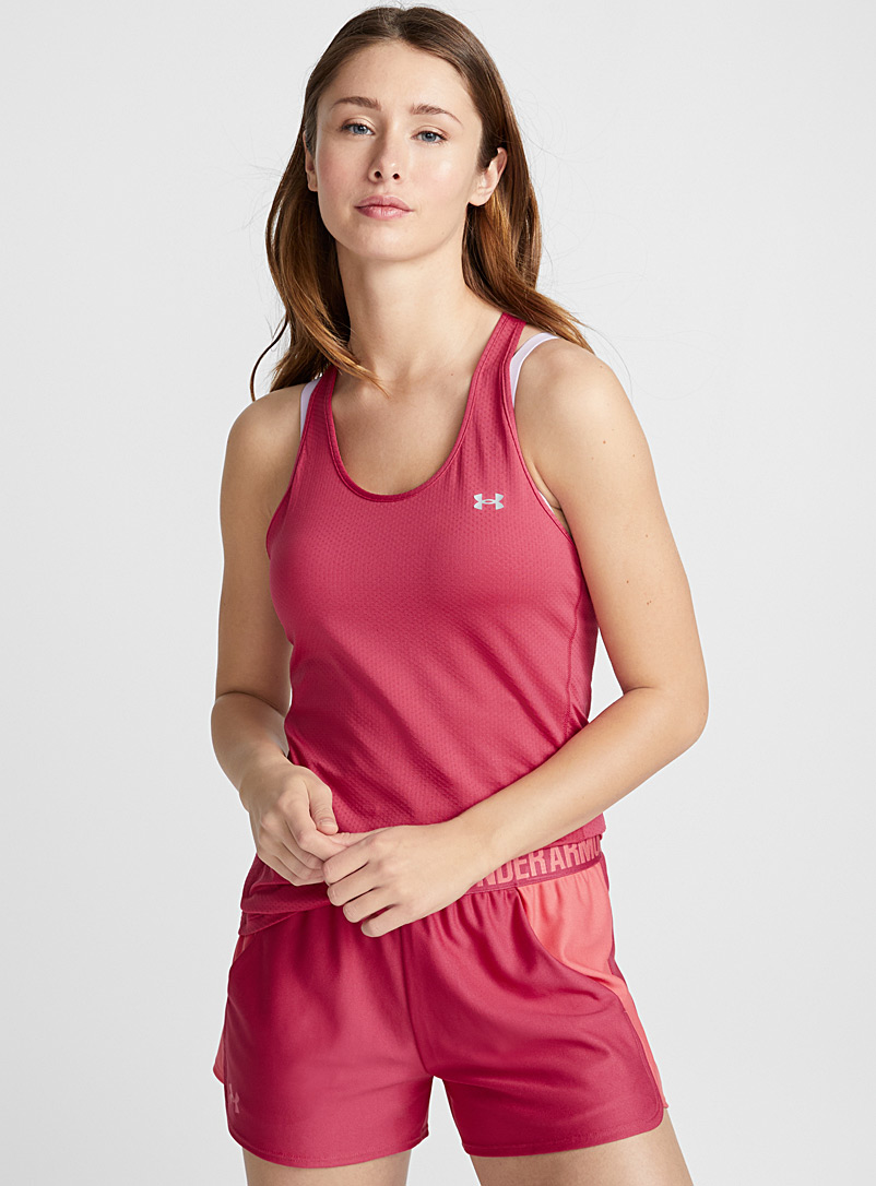 Armour Racer training tank - Tank tops - Cherry Red