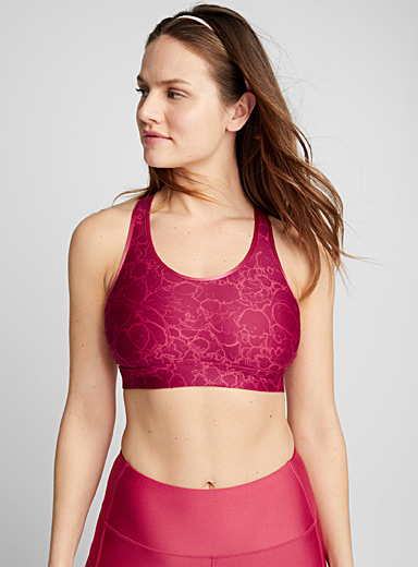 Effervescent compression bra