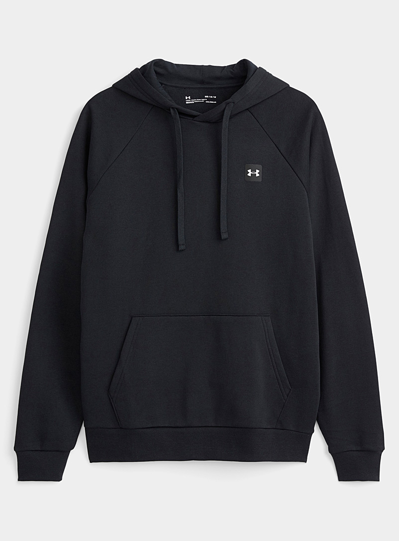 Under Armour Black Rival Fleece hoodie for men