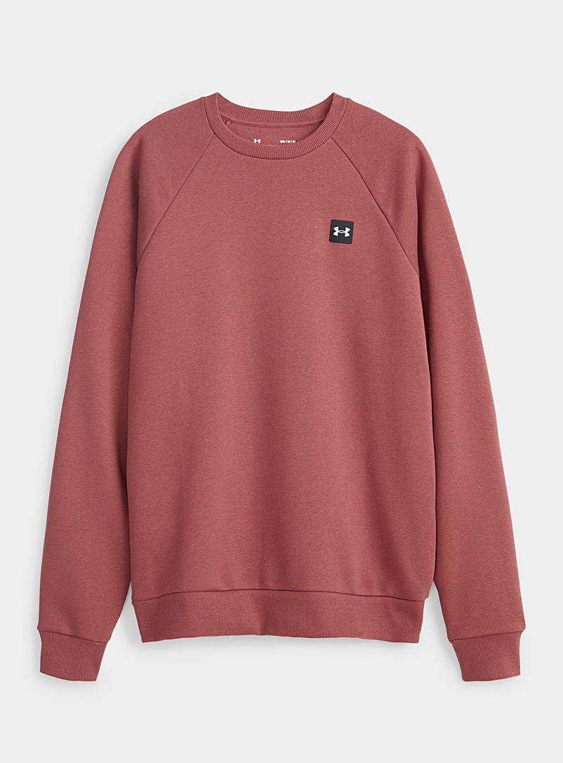 Soft minimalist cotton fleece sweatshirt