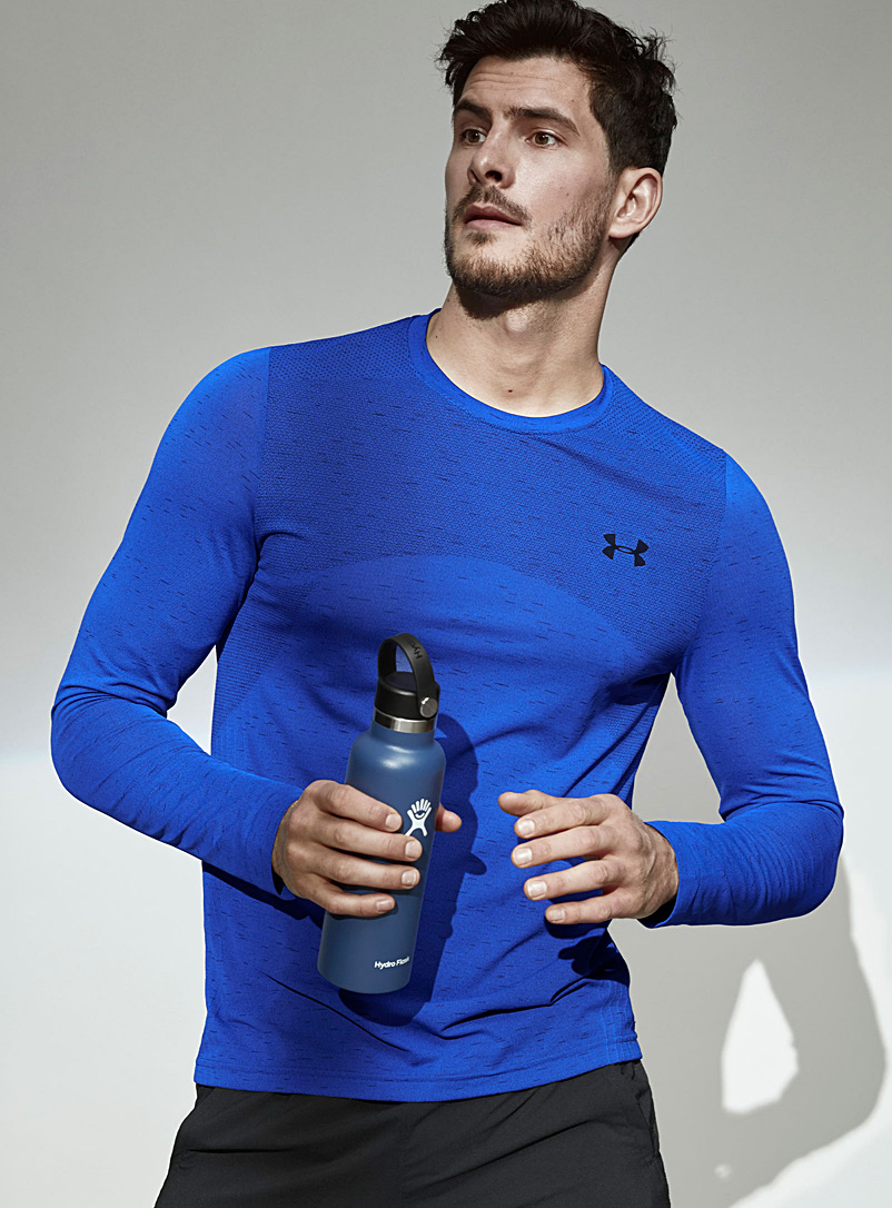 Under Armour Sapphire Blue Lightweight seamless T-shirt for men