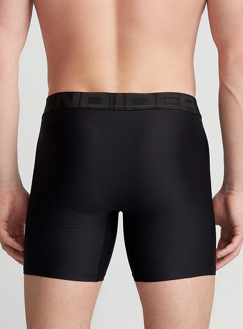 Under Armour Charcoal Technical micro-knit boxer brief 2-pack for men