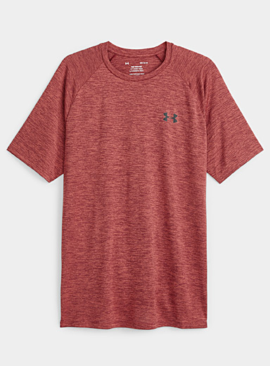 Under Armour Ruby Red Tech 2.0 workout tee for men