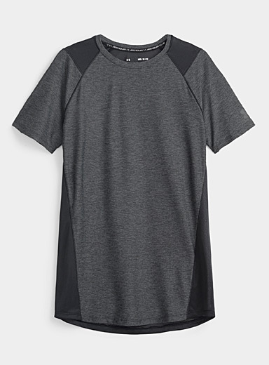 Under Armour Patterned Black MK-1 workout tee for men