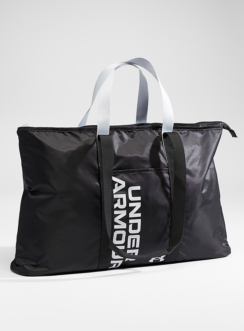 Under Armour Oxford Metallic typographic tote for women